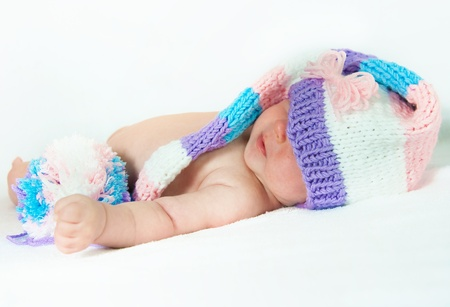 The image of the newborn child in different images Stock Photo - 13916973