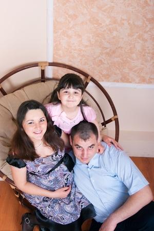 La imagen de una familia feliz. Foto de archivo - 15785460