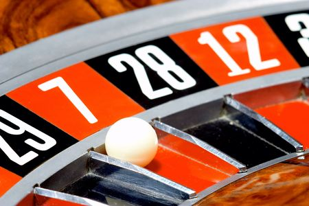 addictive: Casino, roulette Stock Photo