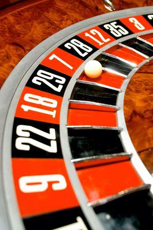 wagers: Casino, ruleta  Foto de archivo