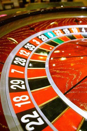 hits: Casino, roulette Stock Photo