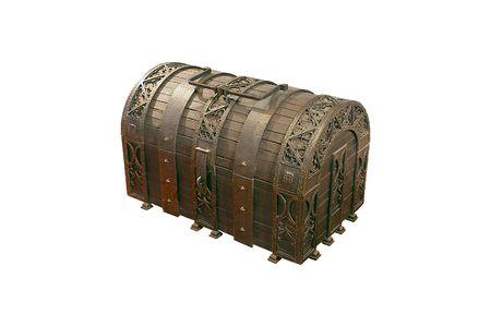 plunder: Treasure Chest Stock Photo