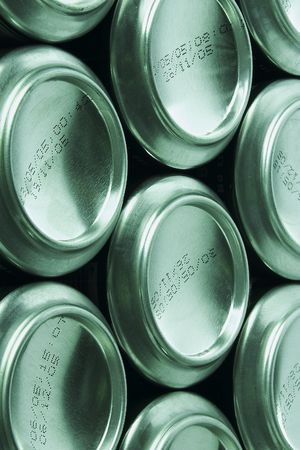 Cold drinks can photo