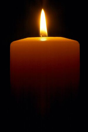 steadily: Candle Stock Photo