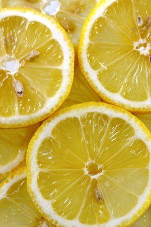 fulfill: Lemon background Stock Photo