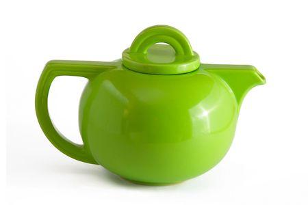 lug: Green Teapot