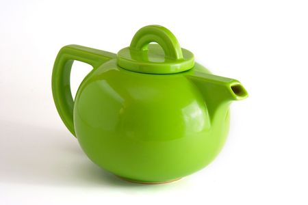 Green Teapot photo