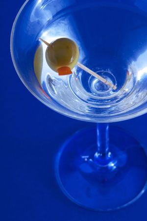 stirred: martini Stock Photo