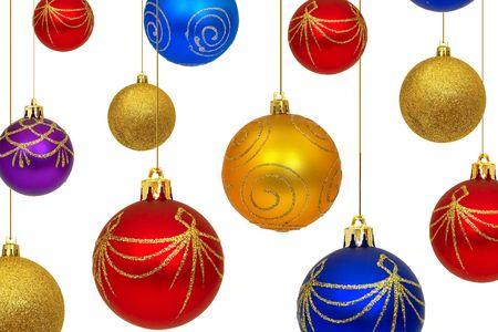 Christmas balls Stock Photo - 372198