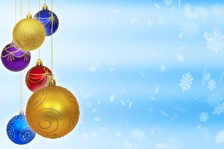 Christmas balls Stock Photo - 372189