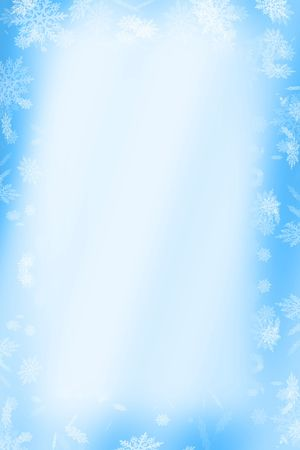 snowflakes for christmas Stock Photo - 372185