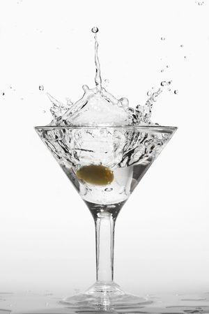 bartending: splashing martini