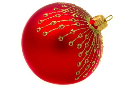 Close up of the christmas decoration. Christmas ball