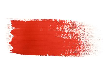 paints: Natural Brush Strokes created from real ink strokes  Stock Photo