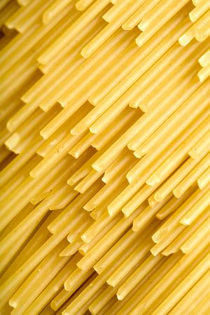 foodie: Close up of the background Spaghetti Stock Photo