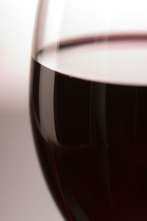 The close up of the red wine glass Stock Photo - 1015664