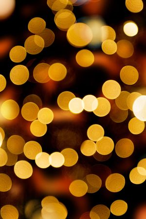 lights in the background. Forced blurr.
