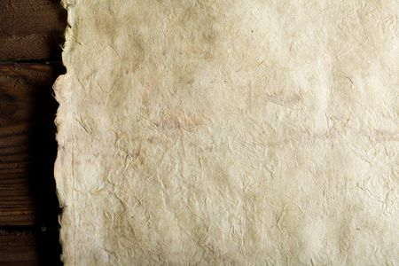 old paper on brown wood texture with natural patterns Stock Photo - 3270661