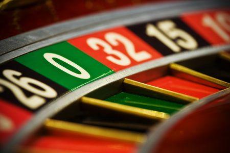 Casino roulette, zero  photo