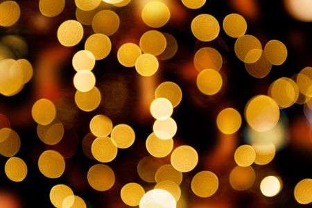 lights in the background. Forced blurr.defocused, light, lighting, , backgrounds, illuminated, color, celebration, image, red, abstract, night, pattern, decoration, lights, bright, close-up, yellow, party, street, holiday, blurred, scen