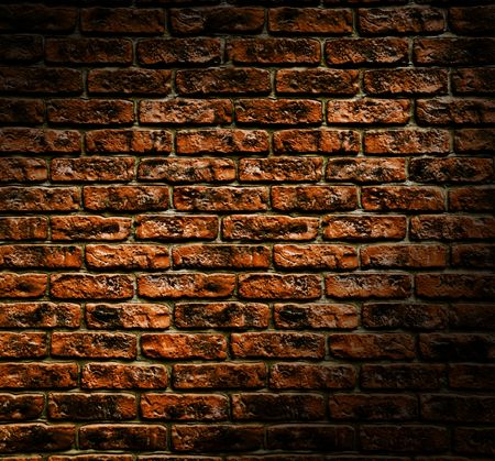 surrounding wall: Close up view of the Grunge brick wall texture