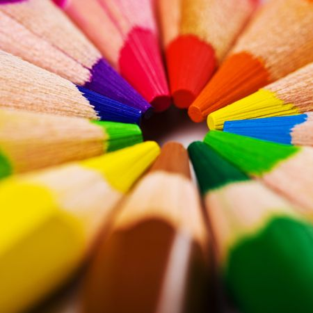 sharpen: closeup view of the pencil background