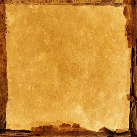 old paper texture with natural patterns Stock Photo - 4176936