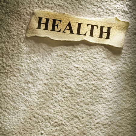 health retirement on the old paper backgroune Stock Photo - 4586996