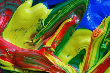 refurbishing: vibrante colore di sfondo di vernice  Archivio Fotografico
