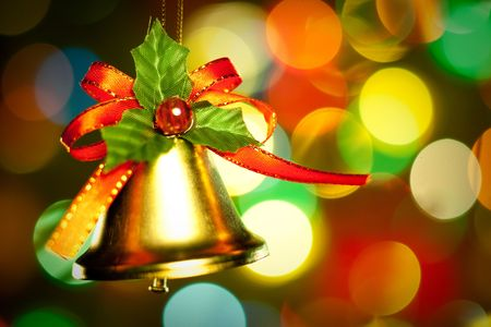 Christmas decoration with colorful lights and decorations. Stock Photo - 5888707