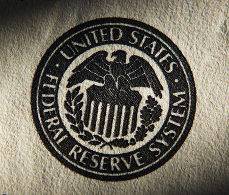 reserve: United States Federal Reserve System symbol.Close up