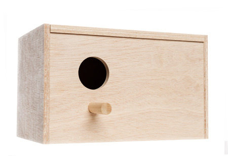 birdhouse: Birdhouse, isolated on white