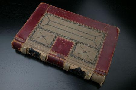 ledger: antique ledger book Stock Photo