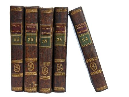 antiquary: Old travel books