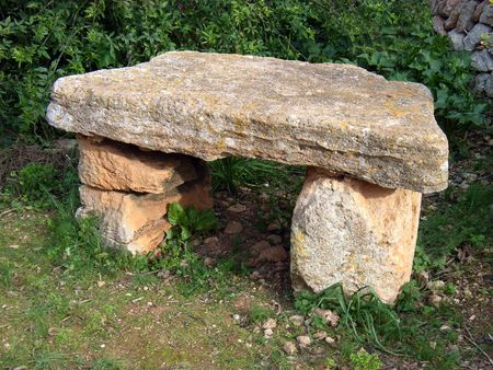 sacrifices: Old Stone Altar used for sacrifices