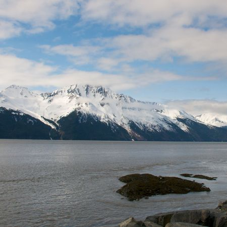 Scenic nature images of the Alaskan wilderness photo
