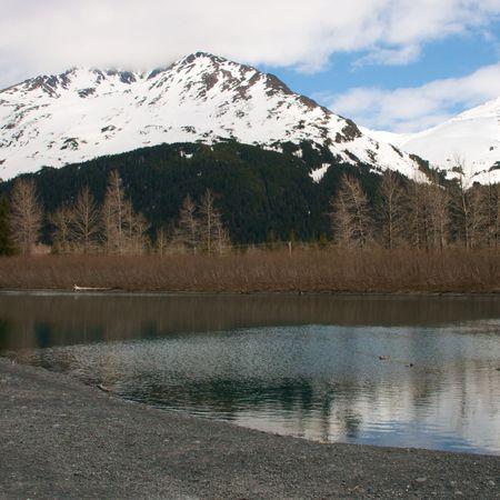 Scenic immagini della natura selvaggia Alaska Archivio Fotografico - 3491156