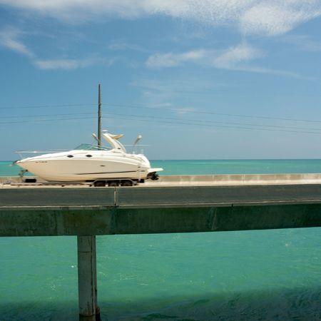 Seven Mile Bridge in the Florida Keys, Florida photo
