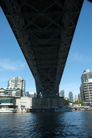 Vancouver, British Columbia the site of the 2010 Winter Olympics photo