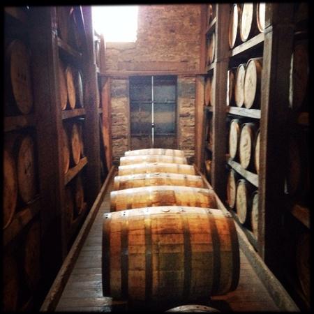bourbon: Bourbon barrels