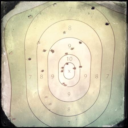 shooting target: Schieten doel
