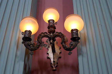 sconce: St. Louis Courthouse Lights