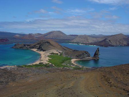 galapagos: GALAPAGOS PARADISE LANDSCAPE Stock Photo