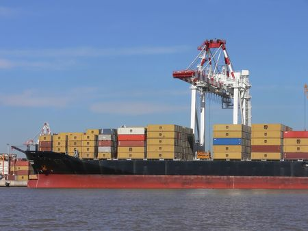 PORT OF BUENOS AIRES photo