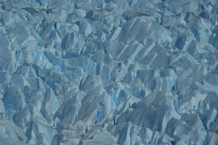 icescape: The incredible forms of the top of a glacier
