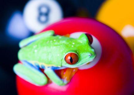 colours tints: Round game Stock Photo