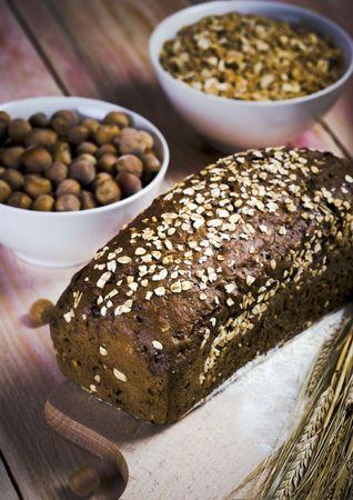 Whole wheat bread Stock Photo - 787195