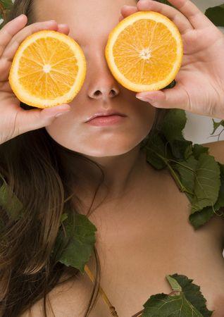cheastm breast: Orange