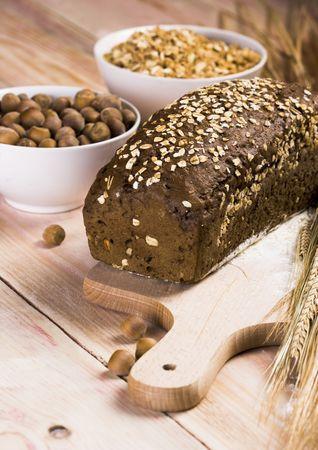 Whole wheat bread Stock Photo - 786159