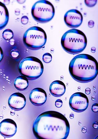 Symbols of internet Stock Photo - 790287